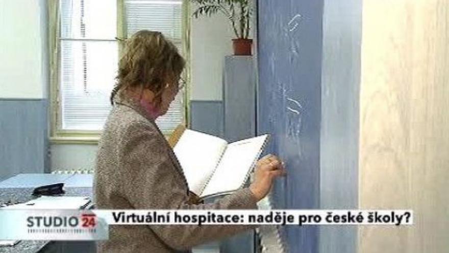 Video Virtuální hospitace: naděje pro české školy?