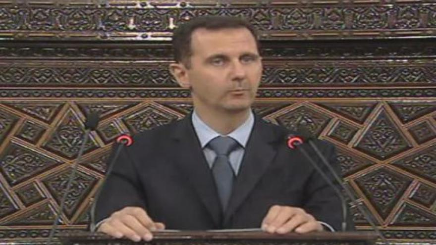 Video Prezident Asad promluvil k parlamentu