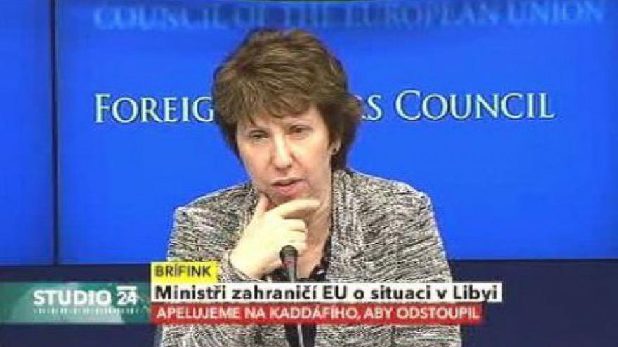 Video Tisková konference Catherine Ashtonové