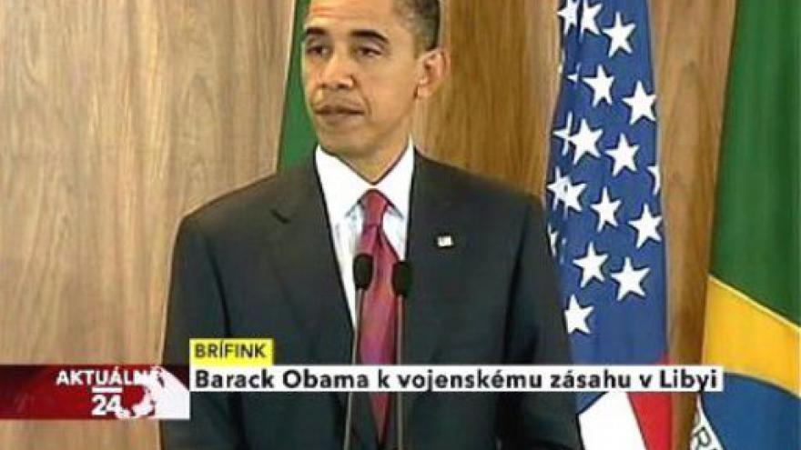 Video Tisková konference Baracka Obamy