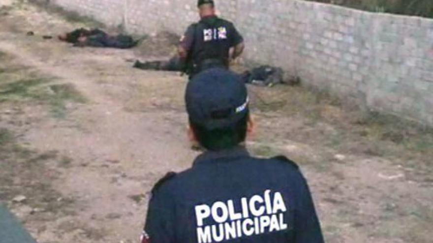 Video Mexická policejní šéfka utekla