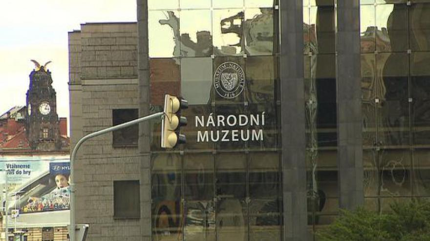 Video Z Národního muzea informuje Lenka Drmotová