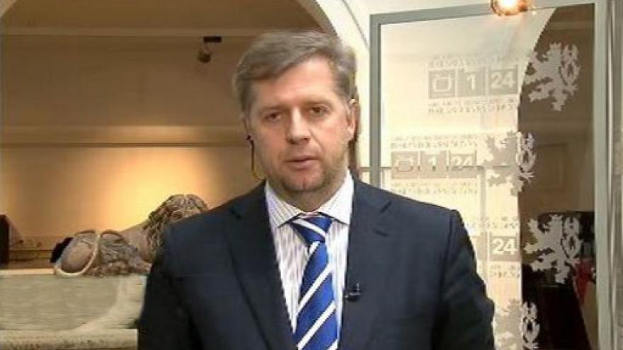 Video Petr Bendl ve Studiu ČT24