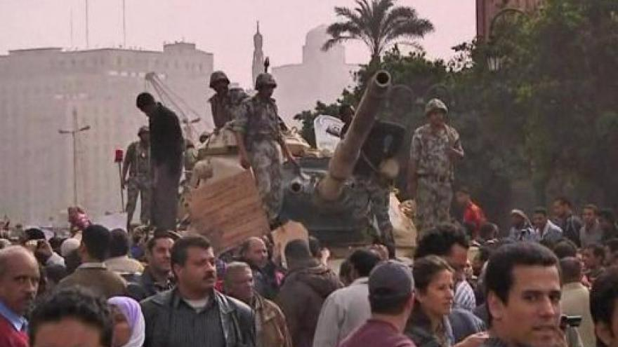 Video Události o nepokojích v Egyptě