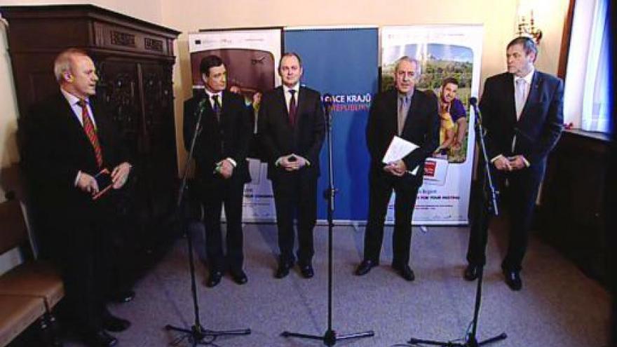 Video Tisková konference po setkání hejtmanů s ministrem zdravotnictví
