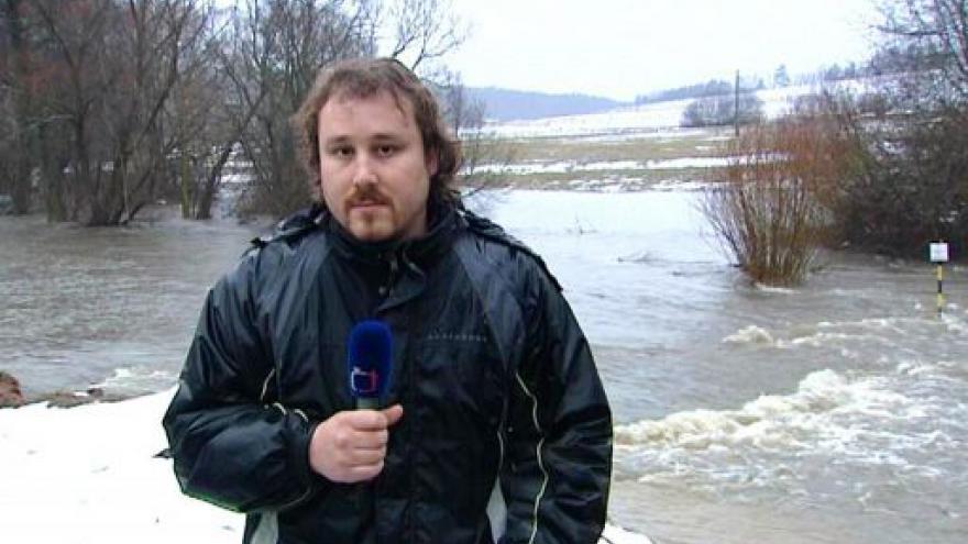 Video Záplavy hrozí hlavně na západě republiky