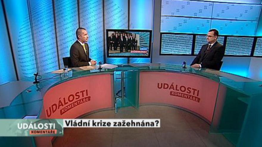 Video Premiér Nečas hostem Událostí, komentářů