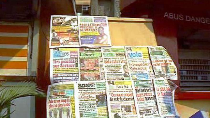 Video Do Pobřeží slonoviny jedou zprostředkovatelé
