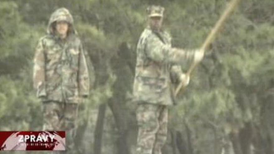 Video Největší vojenské cvičení v Koreji