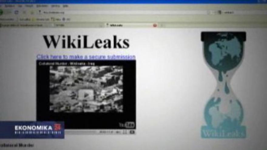Video WikiLeaks versus plaetbní společnosti