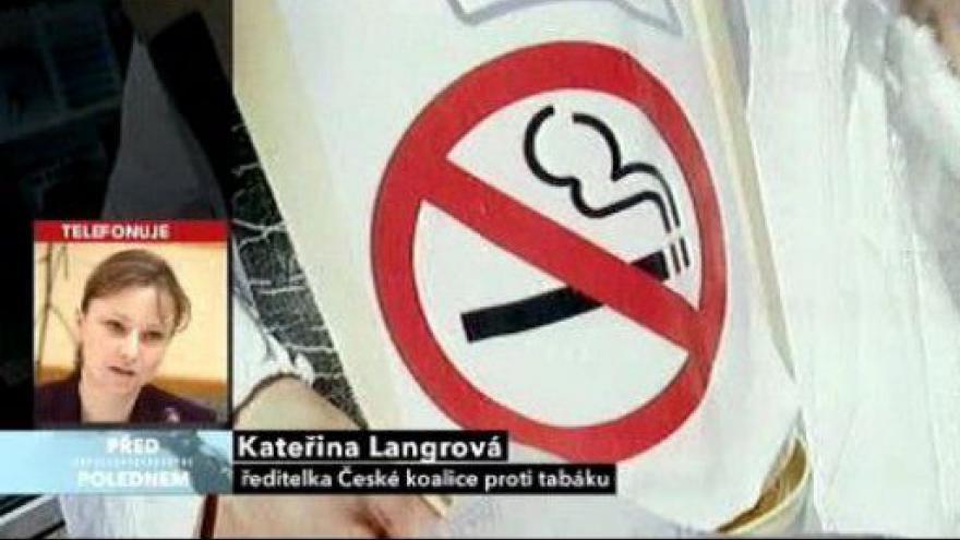 Video Studio o regulaci tabákových výrobků