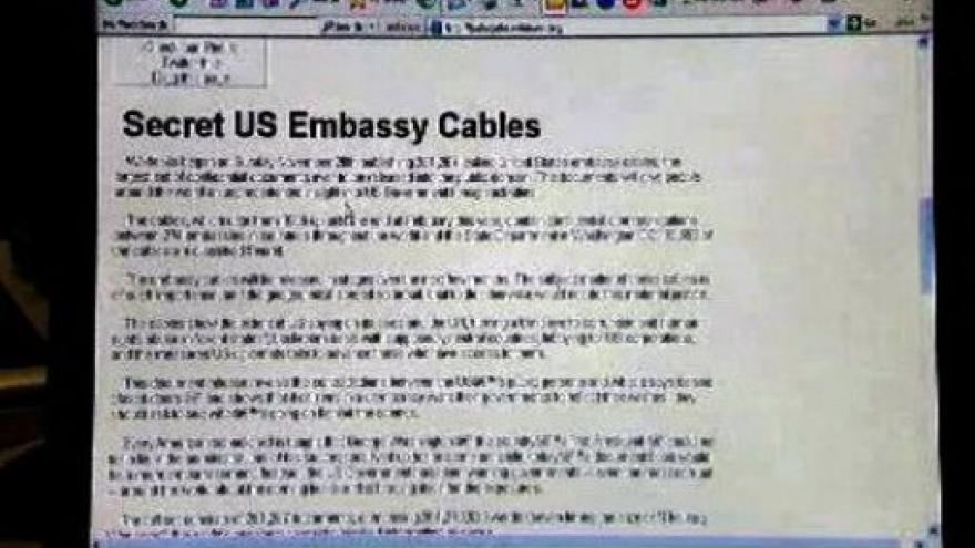 Video Události o tajných depeších na WikiLeaks
