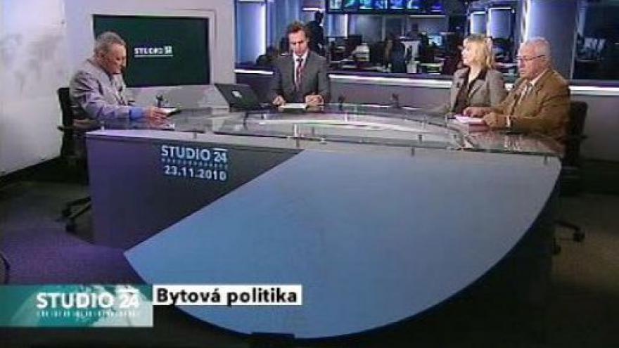 Video Studio ČT24 o nájemních vztazích