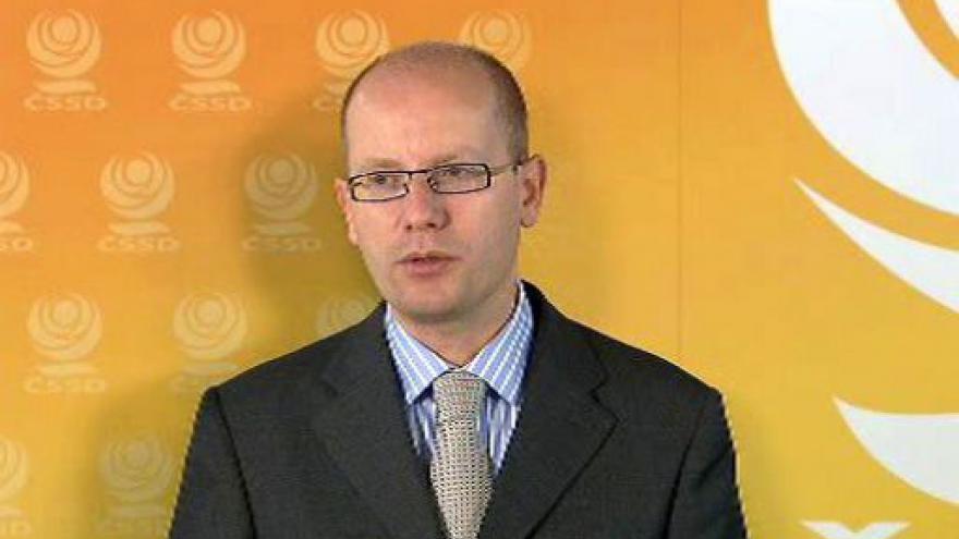 Video Vyjádření Bohuslava Sobotky