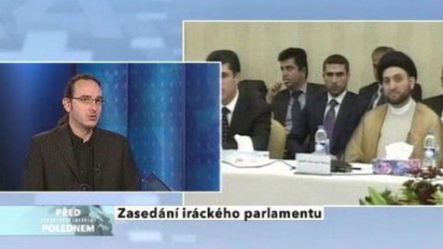 Video Zasedání iráckého parlamentu
