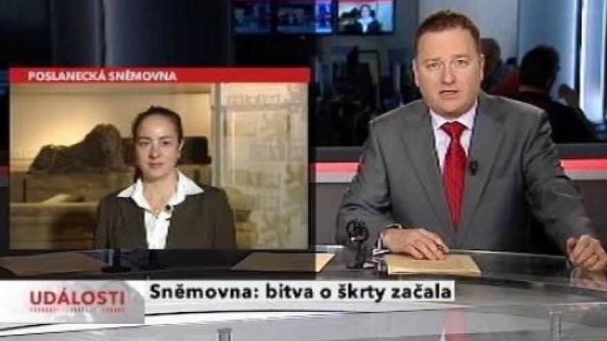 Video Vstup Jany Čermákové a reportáž Lukáše Dolanského