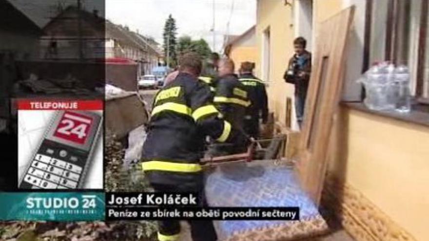Video Josef Koláček z nadace Adra ve Studiu ČT24