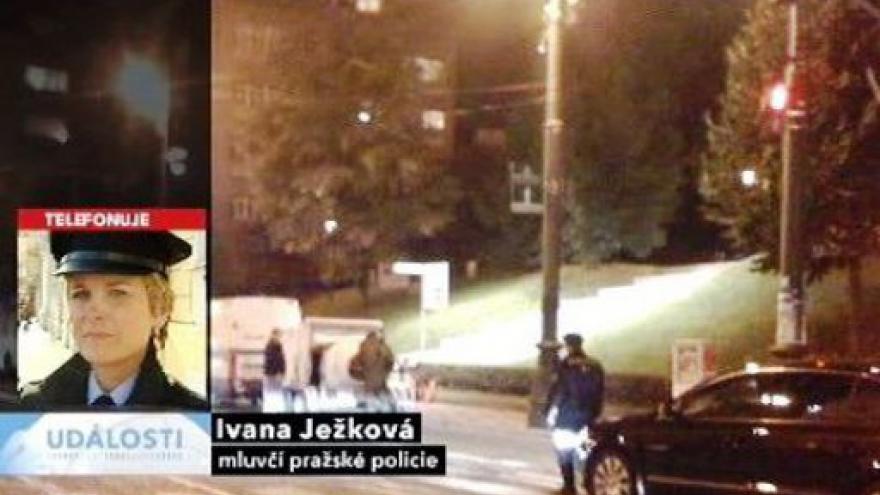 Video Telefonát policejní mluvčí Ivany Ježkové