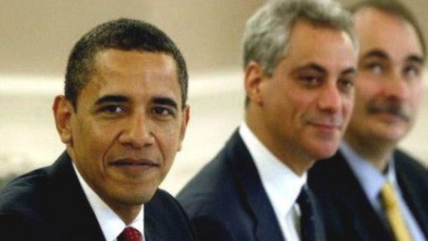 Video Emanuel opouští Obamu