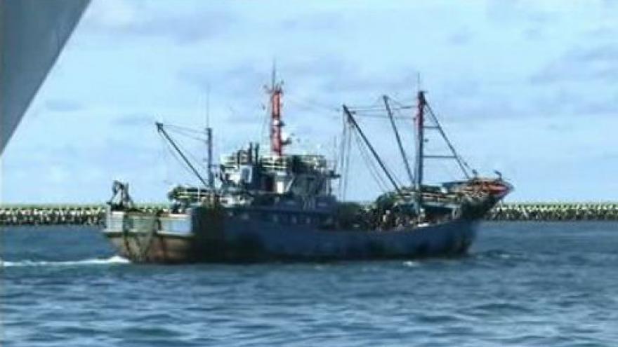 Video Japonsko propustilo čínského kapitána