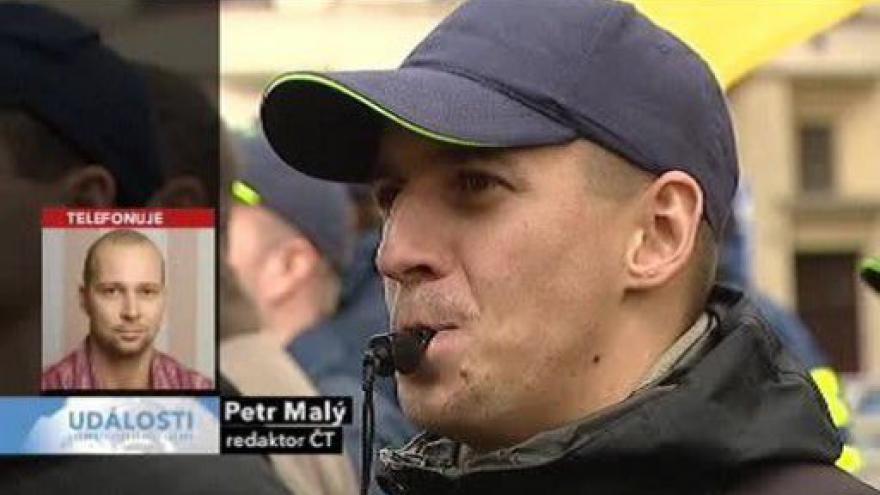 Video Ranní události o dnešní demonstraci od Petra Malého