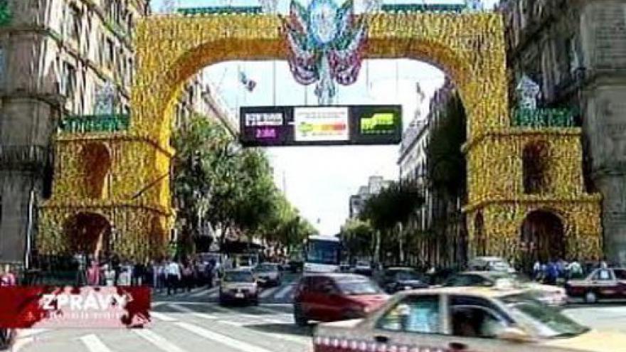 Video 200. výročí zahájení boje za nezávislost v Mexiku
