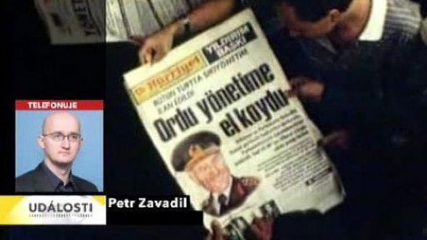Video Telefonát Petra Zavadila