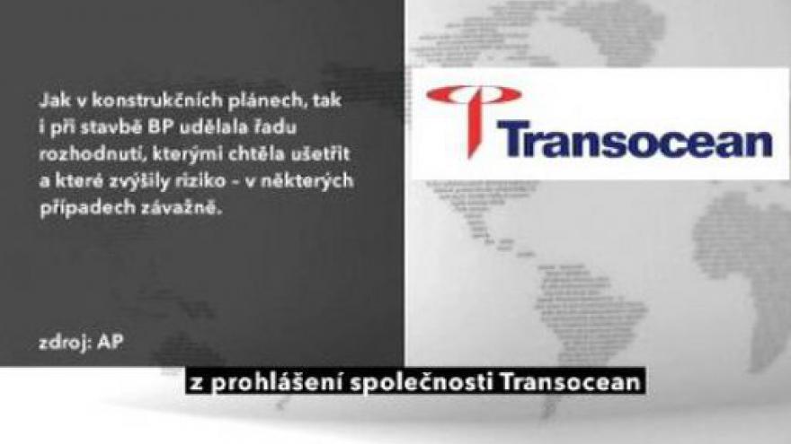 Video BP: Za havárii může série chyb