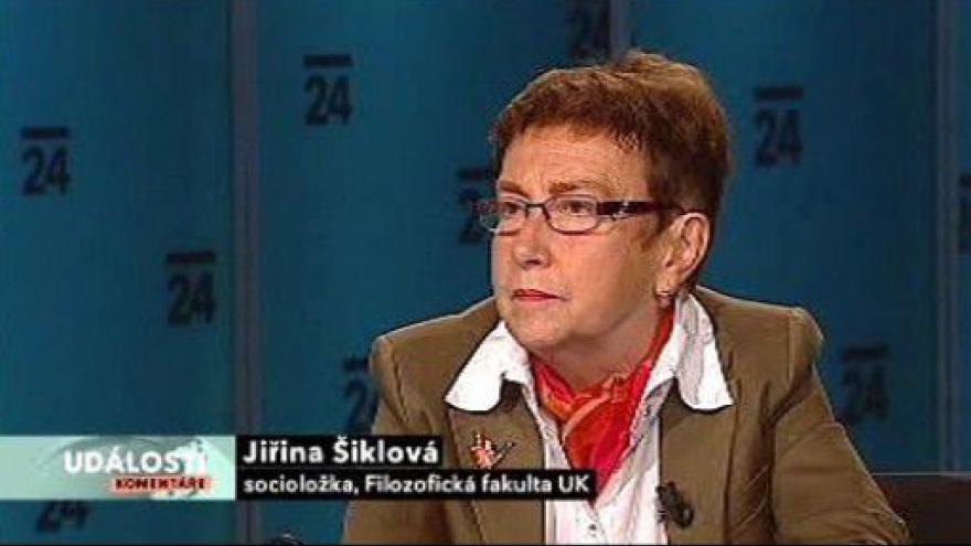 Video Rozhovor s Jiřinou Šiklovou