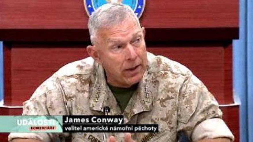 Video Události, komentáře ke stavu americké armády