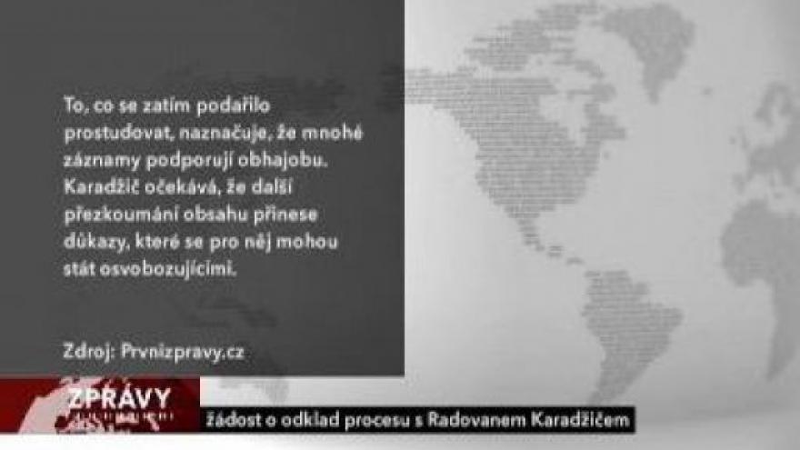 Video Karadžič se opět bude zodpovídat