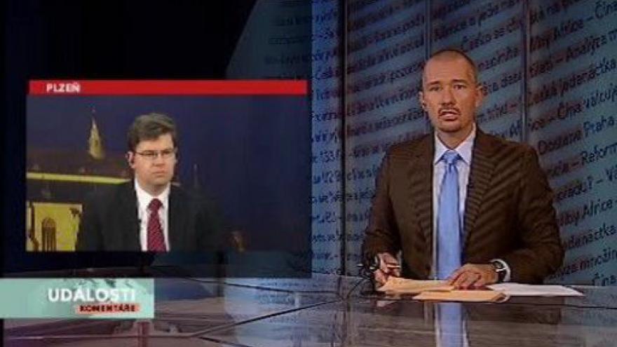 Video Jiří Pospíšil v Událostech, komentářích ke kauze Pitr