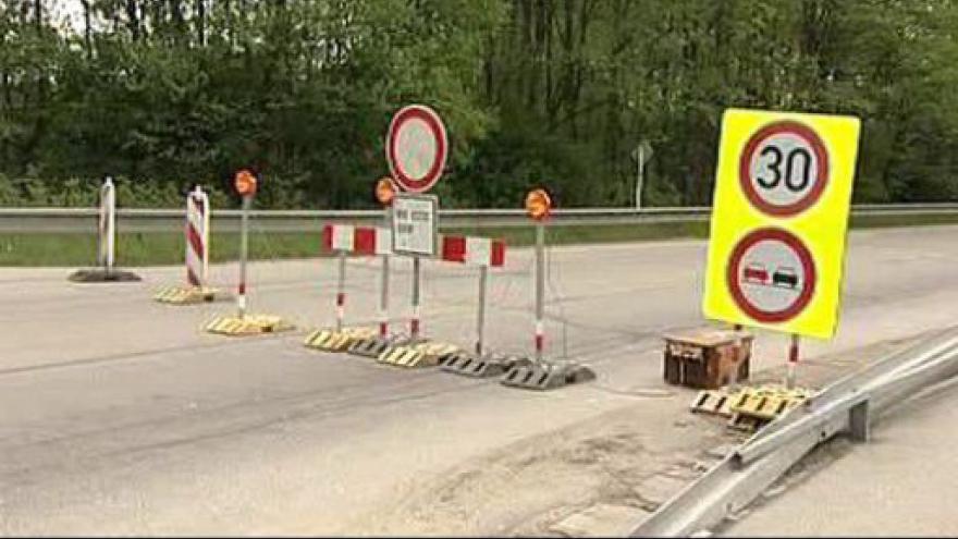 Video Řidiče trápí v létě uzavírky