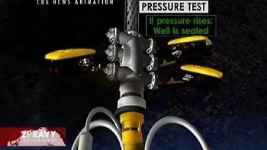 Video BP nasadila nový zvon na unikající ropu
