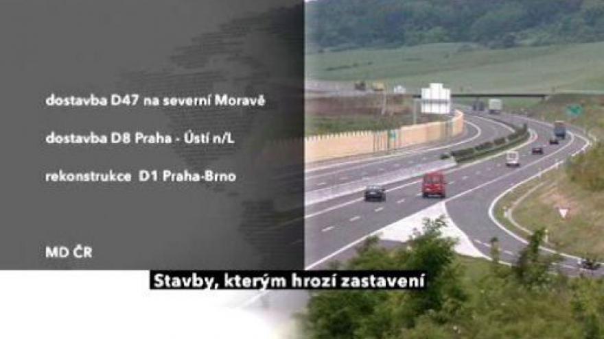 Video Příští rok se mnoho dálnic nepostaví