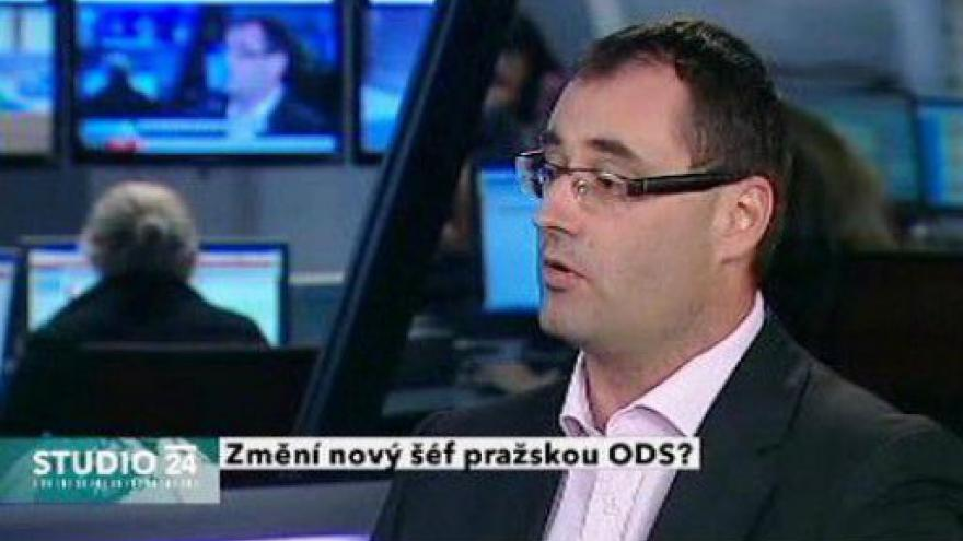 Video Studio ČT24 k situaci v pražské ODS