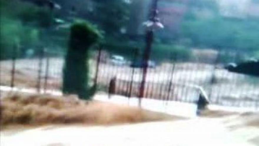 Video Jižní Francii zasáhly povodně