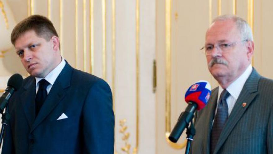 Video Gašparovič pověřil Fica sestavením vlády