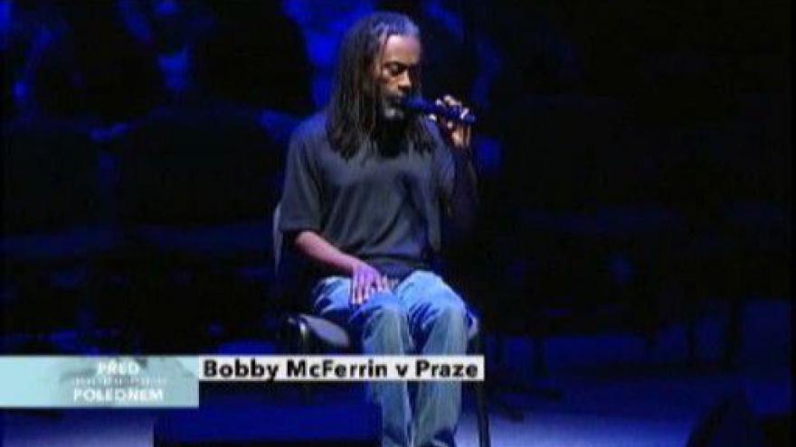 Video O Bobbym McFerrinovi hovoří Vl. Vlasák