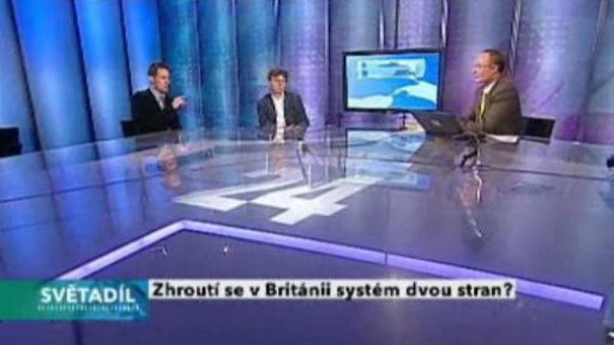 Video Světadíl - britská předvolební debata