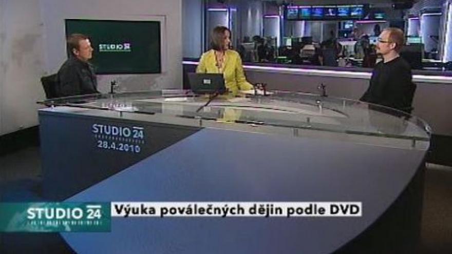 Video Mikuláš Kroupa a pedagog Roman Anýž ve Studiu ČT24