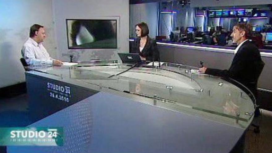 Video Studio ČT24 ke studentským volbám