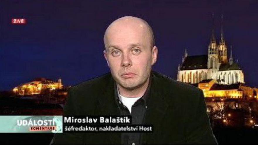 Video Rozhovor s Miroslavem Balaštíkem