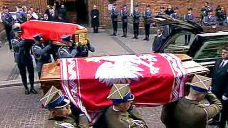 Video Zahraniční delegace ručí účast na pohřbu