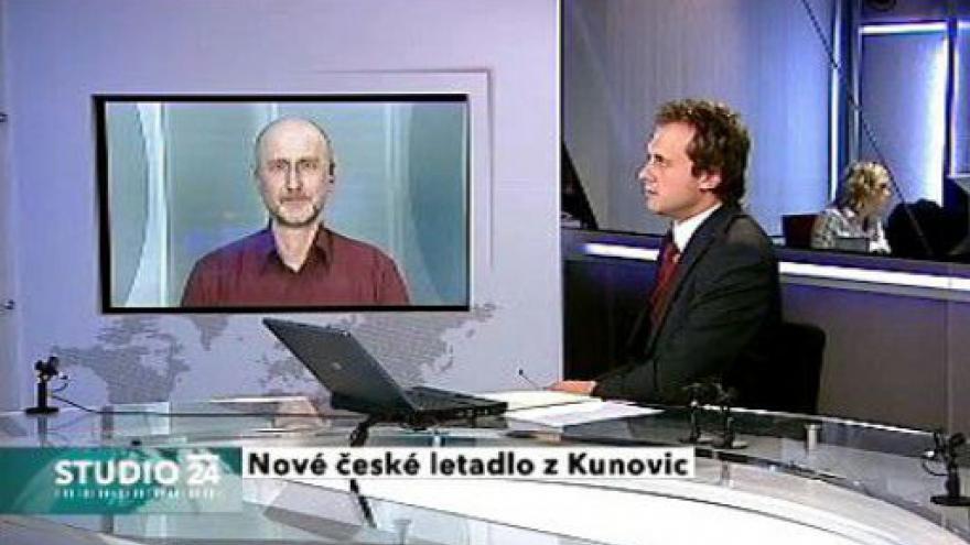 Video Rozhovor s konstruktérem P. Štěrbou