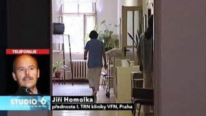 Video Telefonát Jiřího Homolky