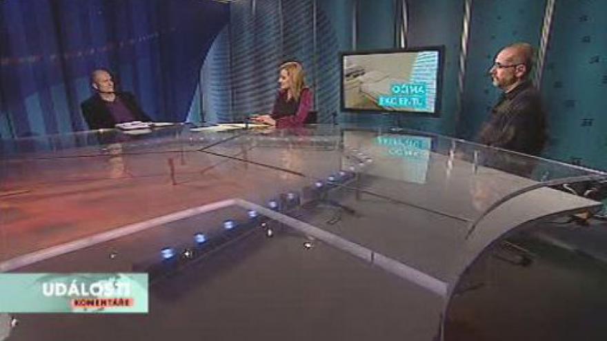 Video Martin Hollý a Tomáš Raiter v pořadu Události, komentáře