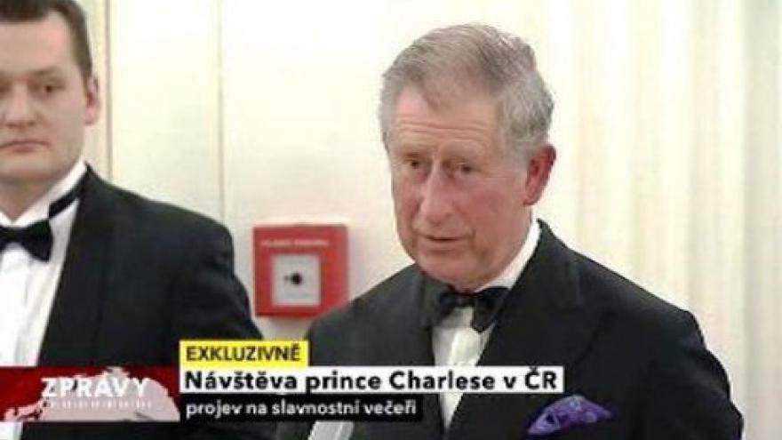 Video Projevy prince Charlese a prezidenta Václava Klause