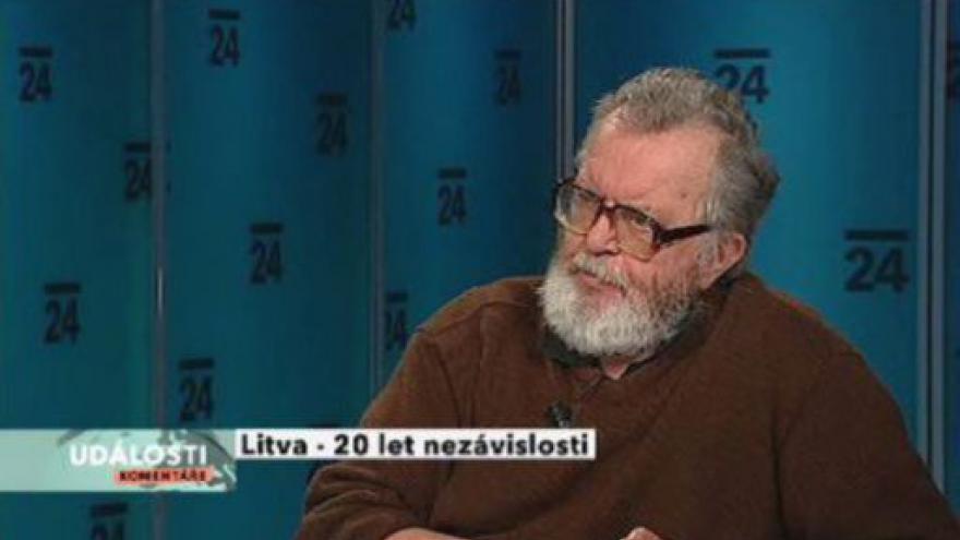 Video Vladimír Nálevka hostem Událostí, komentářů