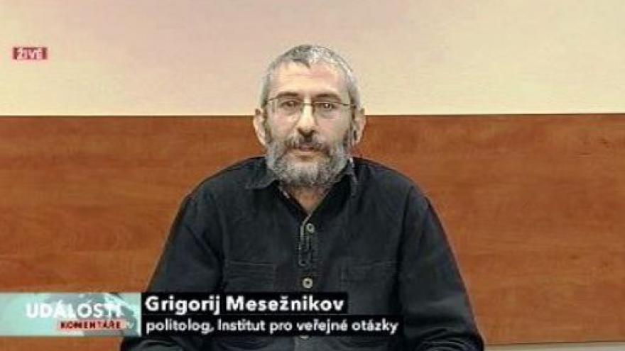 Video Rozhovor s Grigorijem Mesežnikovem